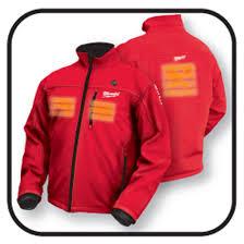 M12 Cordless Lithium Ion Red Heated Jacket Kit Milwaukee Tool