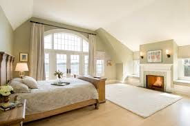 Window Treatments For Bay Windows In Bedrooms - window treatments for large windows bedroom traditional with arch
