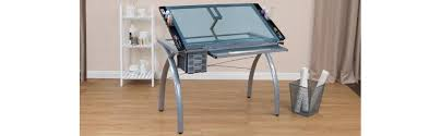 Artist Drafting Table Amazon Com Studio Designs 10050 Futura Craft Station Silver Blue