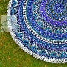 Outdoor Picnic Rug Throw Mandala Outdoor Decor Decor