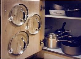 Cabinet Door Pot Lid Organizer 18 Best Saucepan Lid Storage Ideas Images On Pinterest Kitchen