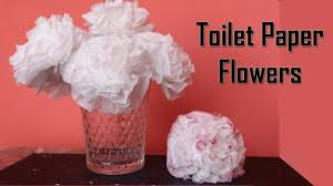 Diy Flower Centerpiece Ideas by Diy Toilet Paper Flower Centerpiece Ideas Wedding Decoration