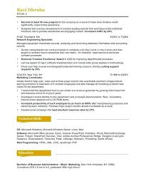 sample marketing coordinator resume ideas collection