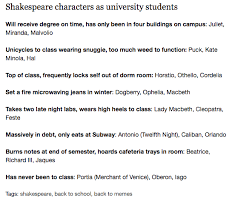 Shakespeare Lyrics Meme - shakespeare according to tumblr riveted