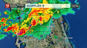 Central Florida Map by Storms Move Through Central Florida Bringing Lightning Wftv
