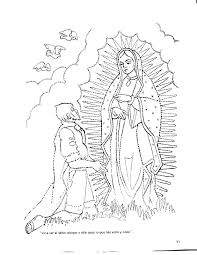 virgen de guadalupe coloring page free download