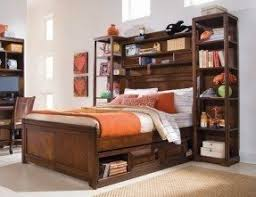 Shelf Bed Frame King Size Headboard With Shelves Foter