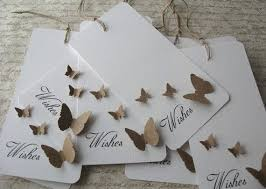 wedding wishes tree 100 wedding wishing wish tree butterfly tags set 100 white