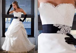 navy blue wedding dress wedding dresses with navy blue accents wedding dresses