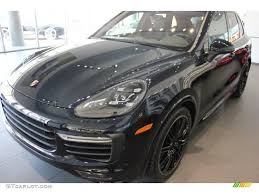 2017 porsche cayenne gts blue 2016 moonlight blue metallic porsche cayenne gts 104676752 photo