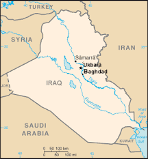 baghdad on a map ukbara