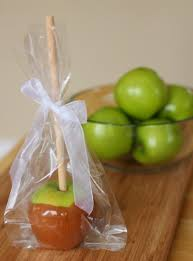 candy apple bags caramel dipped apples make and takes