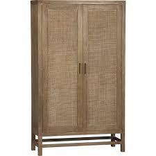 blake grey wash 2 door cabinet in armoires crate and barrel