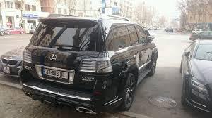 lexus minivan saw this lexus lx570 wald black bison