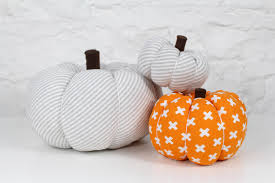halloween fabric crafts diy easy fabric pumpkin tutorial youtube