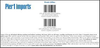pier one imports black friday pier 1 imports promo codes u0026 coupons october 2017