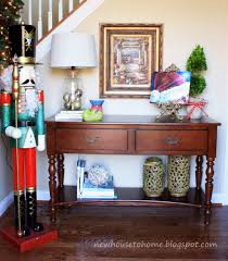 craftsman style home decor console tables foyer console table decorating ideas staggering