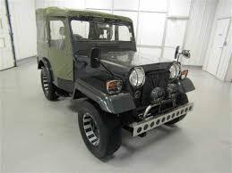 jeep mitsubishi 1992 mitsubishi jeep for sale classiccars com cc 1010026