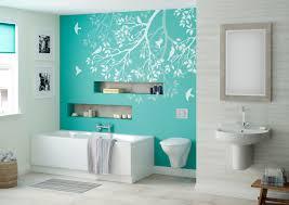 Feature Wall Bathroom Ideas Aqua Feature Wall Betta Living Libra Bathroom Home