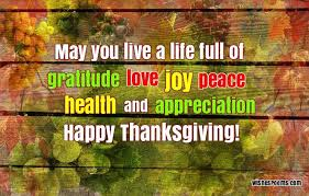 best happy thanksgiving message to god for giving thanks