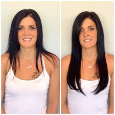 vomor hair extensions how much vomor tape in extensions salon spa