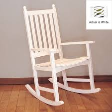 White Rocking Chair Outdoor by Beautiful White Rocking Chairs In Interior Design For Home With