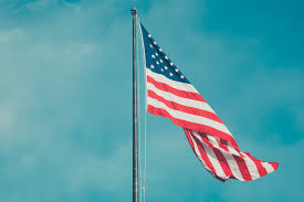 Flag Of The United States Of America Free Images Sky Wind Red Vehicle Mast Usa United States Of