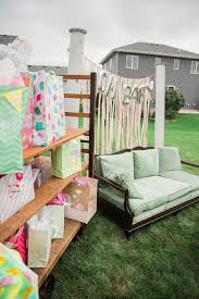 Summer Inspired Outdoor Baby Shower Decoration Ideas