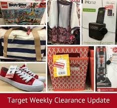 target weekly clearance update all things target
