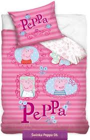 Peppa Pig Single Duvet Set Bedding Peppa Pig Pink Children Bedding Kids Bedding With