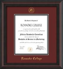 14x17 diploma frame of florida diploma frame cherry lacquer w uf