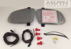 muth mirror systems pontiac grand prix signal mirrors