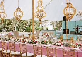 Party Chandelier Decoration by Chandelier Wedding Decor Is A Bright Wedding Trend