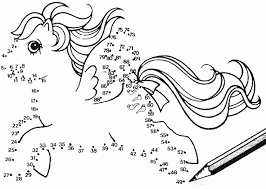 coloring pages girls pony coloring pages
