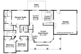 Bungalow House Designs And Floor by Floor Plans And Elevations Of Three Bedrooms Bungalow House Plan