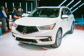 acura vs lexus crossover 2017 acura mdx first look review motor trend