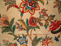 richloom jacobean floral moire home decor fabric 56