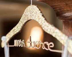 personalized wedding hangers etsy s original personalized wire wedding hangers by lilafrances