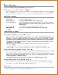 network engineer resume network engineer resume template business