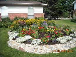 round flower beds 7010