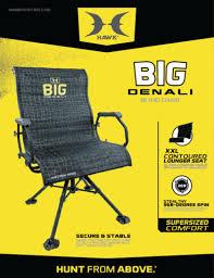 Chair Blind Reviews Big Denali Blind Chair Hawk
