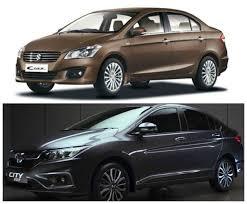 new honda city car price in india maruti suzuki ciaz vs honda city 2017 price in india