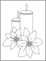 images candles coloring pages google coloring