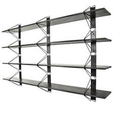 Zig Zag Room Divider Modern Minimal Black Zigzag Four Section Bookcase And Room Divider