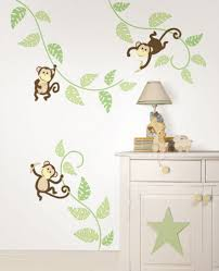 monkey around wall art sticker kit