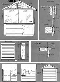 Plans To Build A Wood Shed by 8 8 Shed Building Plans U2013 How To Build A Storage Shed Easily