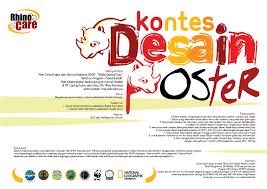 kreativitas desain poster dalam kompetisi desain poster nasional