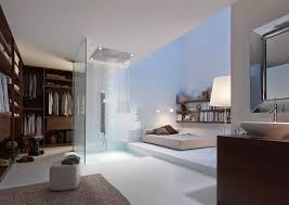 Schlafzimmer Wand Hinterm Bett Freistehende Badewanne Im Schlafzimmer Keine Klare Trennung Von