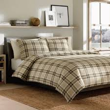 eddie bauer edgewood plaid duvet cover set king red flannel store