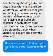 Birthday Sex Meme - your birthday should go like this lots of sex with me and i do